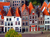 going dutch (sculptorli) Tags: deventer holland hanseatic dutch ijssel overyssel roof néerlandais hollandais 荷兰 голландия hanseaticleague ханзейская лига dehoven netherlands нидерланды paysbas olanda hanze hanse hansseliiga roofs dächer daken techos крыши