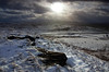 Into the Sun (PJ Swan) Tags: cumbria england great britain pennines snow ice winter inverno cold landscape hills mountains moorland