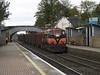 075 at Hazelhatch on Waterford-Sligo ety. timber 24-Oct-06 (metrovick) Tags: irishrail ie071class ie075 freighttrain timbertrain hazelhatch railroad railway emd emdexportloco jt22cw