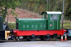 24 Ruston and Hornsby 0-4-0DM Shunter, West Somerset Railway, Washford, Somerset (Kev Slade Too) Tags: 24 rustonandhornsby 040dm shunter diesel westsomersetrailway somerset washford