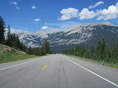 Beautiful mountains along Highway 16 just northeast of Jasper, Alberta (jimbob_malone) Tags: 2017 highway16 alberta