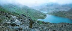 Going down from the Snowdon (sebastiano.riva) Tags: snowdonia wales galles snowdon lakes northwales daarklands