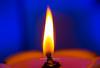 Burn your weaknesses to ashes and ignite your strengths to flames (kumherath) Tags: kumariherathphotography kumariherath canon5dmark3 canonef100mmf28lisusm macromondays flame blue lamp oillamp