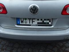 WTF, the licence plate (mkorsakov) Tags: münster city innenstadt kennzeichen licenceplate wtf hehe nerd geek