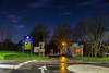 Bull Point, Plymouth. (Ruvaneth Unys Photography.) Tags: bullpoint barne barton roundabout night nighttime mod ministry defense cctv stars stbudeaux kinterbury terrace