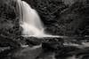 Norwegian nature (steffos1986) Tags: waterfall cascade river longexposure nature landscape nikond5500 afsnikkor18105vr blackwhite sephia monochrom gorge canyon norway norge norwegen noruega hike trekking track trail
