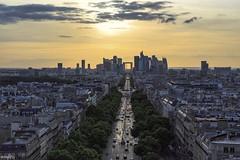 le soir (lichtauf35) Tags: paris sky travel sunshine summer2017 arcdetriumphe lightroom acdsee snapseed lightlines moment mood 2000views lichtauf35