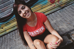 BREN (Lu_Indu) Tags: friend serrano portrait portraits palermosoho palermo buenosaires street streetphoto stranger things strangerthings girl smile smiling love cute beauty