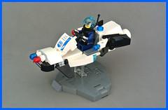 Speeder Bike NP-1000 (FonsoSac) Tags: lego speeder bike enforce police lsb district