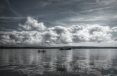 We shall get there some day (pm69photography.uk) Tags: riverexe river exmouth exeter estuary westcountry southwest devon clouds desatuarated 16mm14 fuji fujinon fujifilm xt2