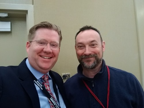 Wes Fryer and Eric Curts at OETC 2018 by Wesley Fryer, on Flickr