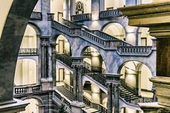 Stairway Miracle (**capture the essential**) Tags: 2017 architecture architektur fotowalk häuserwohnungen innenarchitektur interior interiordesign munich münchen sonya6300 sonyfe1635mmf4zaoss sonyilce6300 staircase stairs treppen treppenhaus