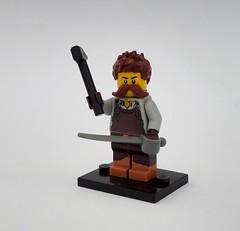 His Majesty's Royal Blacksmith (Robert4168/Garmadon) Tags: brethrenofthebrickseas minifigure lego oleon blacksmith