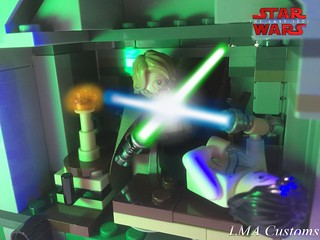 Moc Lego Starwars VIII : The Last Jedi movie scene
