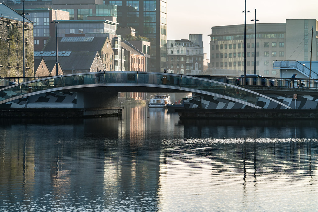 MacMAHON BRIDGE ON PEARSE STREET [MISTY DAY 11 JANUARY 2018]-135501