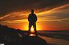 """""""So maybe tomorrow I'll find my way home"""" - Hokitika - New Zeland (TLMELO) Tags: sunset newzeland novazelandia hokitika praia beach susnset oceano pacífico pacific ocean"""