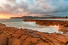 Cloudy Sunrise Seascape (Merrillie) Tags: daybreak sunrise nature water coast cloudy morning sea avocabeach newsouthwales rocks earlymorning nsw northavocabeach landscape ocean outdoors waterscape clouds coastal australia sky seascape headland centralcoast rockplatform dawn