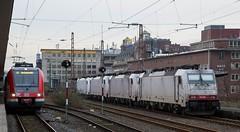 023_2018_01_06_03_Essen_Hbf_6186_907_D_XRAIL_&_2186_910_I_XRAIL_&_2186_908_I_XRAIL_&_6186_906_D_XRAIL (ruhrpott.sprinter) Tags: ruhrpott sprinter deutschland germany allmangne nrw ruhrgebiet gelsenkirchen lokomotive locomotives eisenbahn railroad rail zug train reisezug passenger güter cargo freight fret essen hbf dortmund parisnord wuhan china db vrr sbahnrheinruhr s2 sncf thalys xri xrail 0422 6186 2186 186 outdoor logo natur