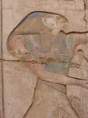 Horus, Karnak (Aidan McRae Thomson) Tags: karnak temple luxor egypt relief carving ancient egyptian