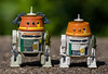 Disney vs Hasbro (atari_warlord) Tags: 375 actionfigure astromech c110p chopper disney droid droidfactory garazeborrelios hasbro phantom rebels starwars zeb