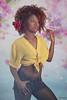 SEXY (Pepa Morente ( 2.200.000 de VISITAS )) Tags: bellas woman retrato floral bonita chica mujer color afro