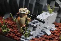 LEGO Star Wars | The Battle of Yavin 4 MOC (Izavagooba) Tags: iv work rock rockwork izavagooba moc 4 yavin battle wars star lego