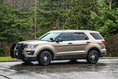 Washington State Patrol Unmarked K-9 unit 2017 Ford Police Interceptor Utility SUV (andrewkim101) Tags: washington state patrol unmarked 2017 ford police interceptor utility suv snohomish county wa everett wsp k9unit