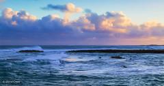 Sunrise on Oahu (buffdawgus) Tags: surnrise landscape seascape pacificocean hawaiianislands lightroom6 topazsw oahu canonef24105mmf4lisusm oahunorthshore canon5dmarkiii hawaii