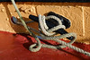 Day #3681 (cazphoto.co.uk) Tags: panasonic lumix dmcgx8 panasonic1235mmf28lumixgxvarioasphpowerois project365 beyond3653 280118 2018th65 barge maldon nautical ropes texture tiedup transport boat