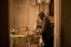 Mima, March 2015 (esztervaly) Tags: portrait grandmother kitchen spring afternoon sunshine gold yellow still life fruits indoor portraitphotography portraiture portraitwoman portraitmood portraits woman womanportrait oldwoman granny grandmotherportrait sunlight afternoonlights goldenafternoon food