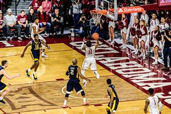 #11, Trae Young going for 2 (Robert Duval Photography) Tags: sooners basketball college oklahoma ou