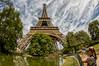 Torre Eiffel (sairacaz) Tags: torre eiffel parís canon samyang 8mm fisheye ojodepez hierro cielo sky