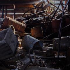 Barn Interior (jtr27) Tags: dscf6881xl jtr27 fuji fujifilm fujinon xt20 xtrans xf 50mm f2 f20 rwr wr barn interior jefferson newhampshire nh newengland