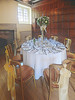 The Place Settings (Steve Taylor (Photography)) Tags: art digital chair tableandchairs table brown gold white cloth wood uk gb england greatbritain unitedkingdom bow bottle champagne dinner glasses hallplace kent knivesandforks party plate plush reception ribbon setting silk spoon bouquet fireplace tablecloth wedding