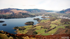 View From Walla Crag (mikepeters) Tags: lakedistrict view derwent water keswick bassenthwaite derwentwater lake landscape sonydscrx100 sonyrx100 mountain hill fell wallacrag cumbria valley
