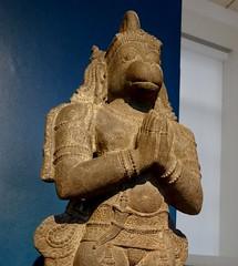 Hanuman, 1600s. (jacquemart) Tags: bloomsbury britishmuseum london hanuman 1600s statue religion
