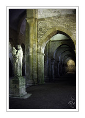 Fontenay (orichier) Tags: fontenay france church abbey sculpture statue stone prison medieval light shadows