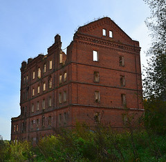 Ruins of the mill (МирославСтаменов) Tags: russia protva mill ruins abandoned building brick