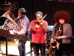 Courtney Pine and the Inner City Ensemble @ Band On The Wall, Manchester 22/2/2018 (stillunusual) Tags: courtneypine courtneypineandtheinnercityensemble innercityensemble bandonthewall manchester mcr city england uk northernquarter nq venue musicvenue concert gig live livemusic music band gigphotos gigphotography jazz 2018