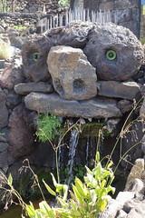 Rock monster (koukat) Tags: lanzarote cactus garden cesar manrique jardin islas canarias canary islands quarry windmill