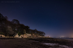 The Great Silence (ianrwmccracken) Tags: night d750 nikon star nikkor2470mmf28 light sands pathhead tide scotland evening ianmccracken low riverforth sky kirkcaldy rock beach shore fife