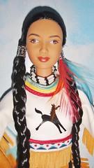 2003 Spirit of the Sky Barbie (6) (Paul BarbieTemptation) Tags: limited edition native spirit collection american katiana jimenez world culture sky dream catcher tru exclusive