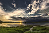 Cuando el cielo toma la palabra - When the sky takes the word (Luis FrancoR) Tags: cuandoelcielotomalapalabrawhentheskytakestheword sky panoramica panoramic ngc ngs ngg ngd colombia sunset atardecer trees