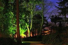 Französischer Garten Celle (W@llus2010) Tags: nachtaufnahme blauestunde celle französischergarten