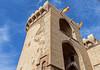 Valencia's  Medieval City Gate( Torres de Quart) (Fujifilm X70 28mm f2.8 Trans-X APS-C Compact)  (1 of 1) (markdbaynham) Tags: valencia valencian spainish spain es espana espanol urban metropolis x70 transx fujifilm vlc fujinon 28mm prime fixedprime compact fujista torresdequart medieval citygate