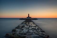 Villajoyosa Spain (Pastel Frames Photography) Tags: spain villajoyosa longexposure colour seascape amazingsunset sunset canon5dmark3 canon1635mm travel landscapephotography seascapephotography explore evening sea mediterranean horizon
