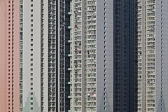 Kowloon Abstract (UrbanCyclops) Tags: hongkong buildings architecture blocks skyscrapers towers apartments flats density abstract facades windows lines asia urban metropolis cityscape