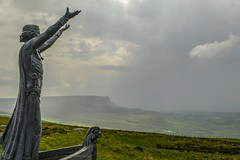 Manannán Mac Lir (Colin Moynes) Tags: binevenagh mountain manannán mac lir causeway northern ireland north coast discoverni weather gods landscape rain clouds storm sunlight lighting