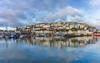 Brixham (Rich Walker75) Tags: brixham devon landscape landscapes landscapephotography village seaside fishing port harbour coast sky cloud clouds reflection pano panorama england efs1585mmisusm eos100d eos canon