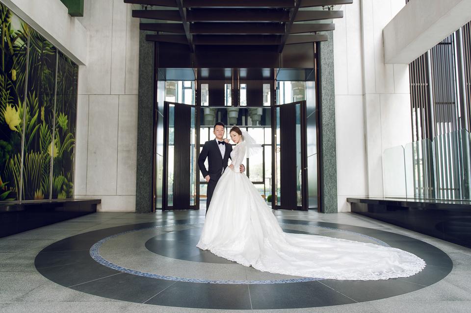 婚攝 高雄林皇宮 婚宴 時尚氣質新娘現身 S & R 092
